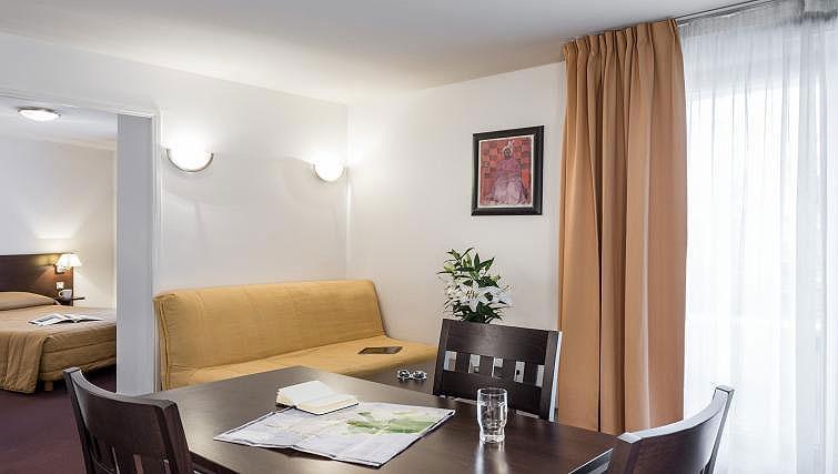 Living area at Adagio Access Paris Clamart - Citybase Apartments