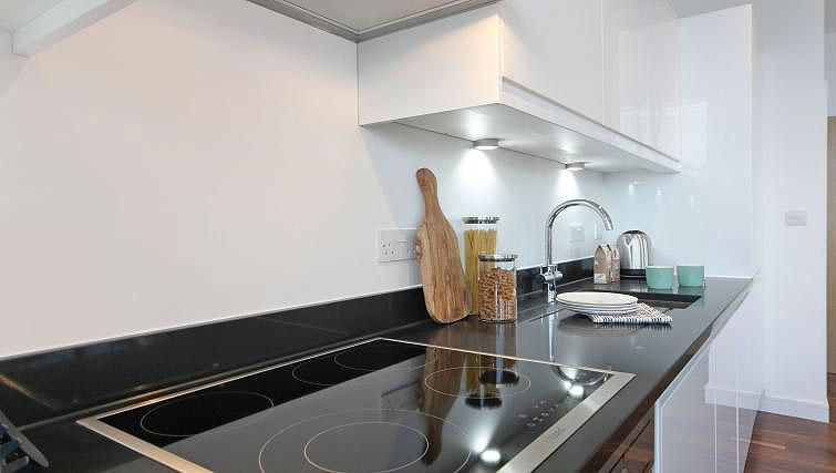 Equipped kitchen at Harrow Apartments - Citybase Apartments