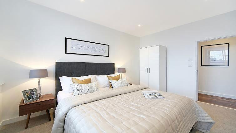 Bedroom at Harrow Apartments - Citybase Apartments