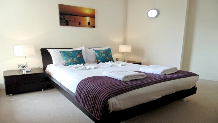 Bedroom at Still Life Southwark - Citybase Apartments