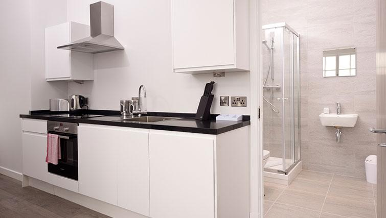 Kitchen at Glassford Residence - Citybase Apartments