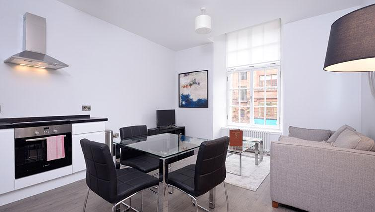 Bright living space at Glassford Residence - Citybase Apartments