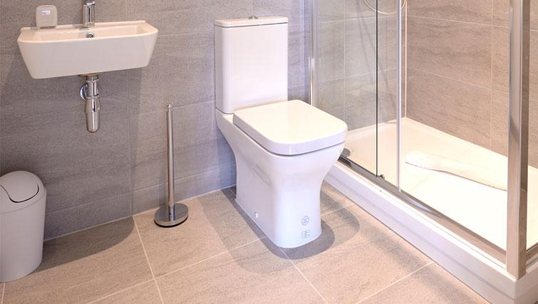 Toilet at Glassford Residence - Citybase Apartments
