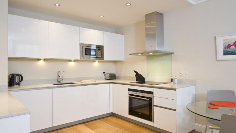 Equipped kitchen at Thistle Street Apartments - Citybase Apartments