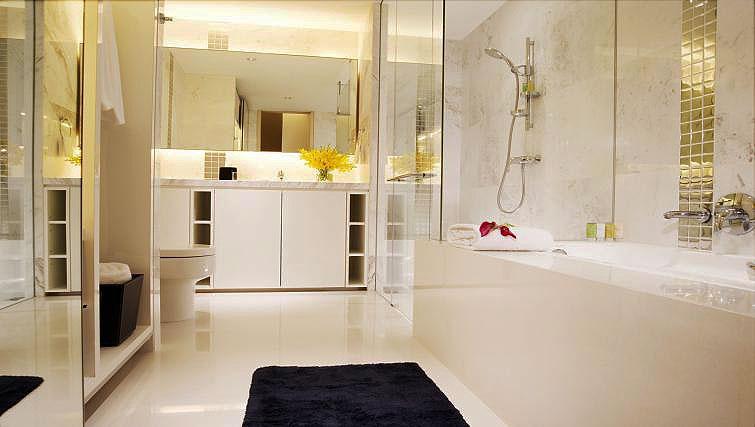 Bathroom at La Residenza Waterfront Apartments, Singapore - Citybase Apartments