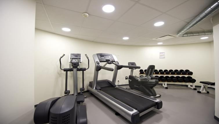 Fitness centre at Staycity Lyon Rue Garibaldi - Citybase Apartments