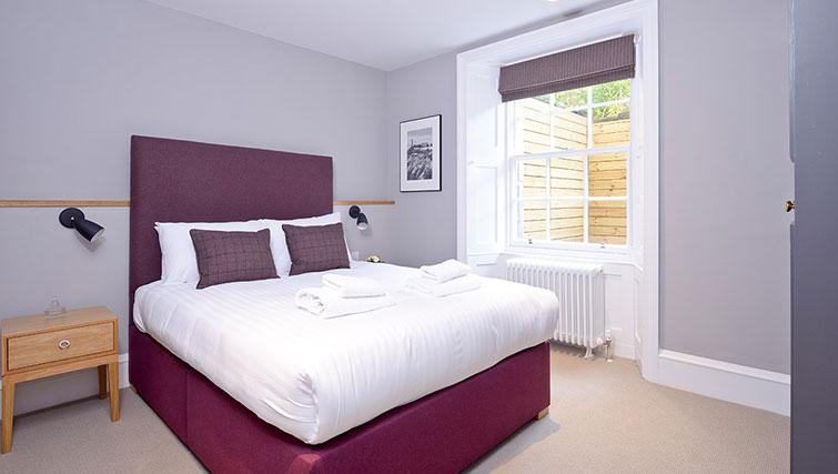 Bedroom at Distillers House - Citybase Apartments