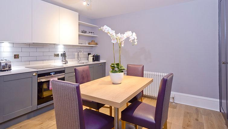 Dining space at Distillers House - Citybase Apartments