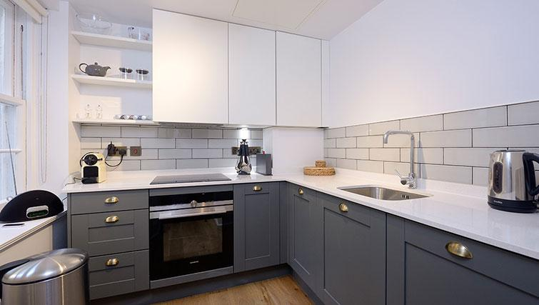 Kitchen at Distillers House - Citybase Apartments