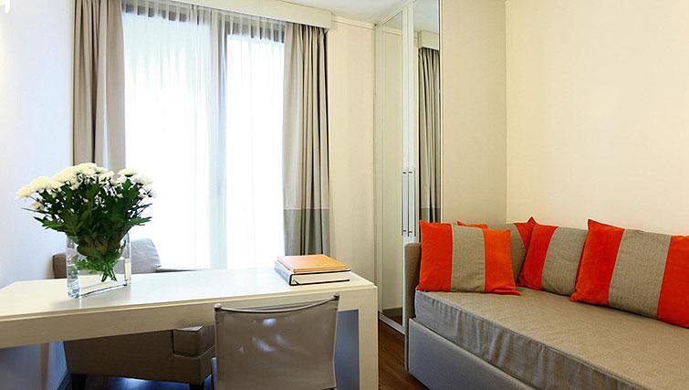 Living/dining area at Ramada Plaza Milano - The Residence - Citybase Apartments