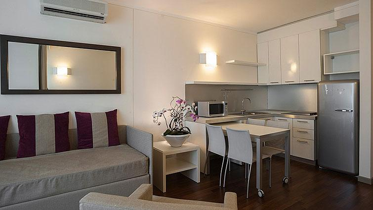 Living space at Ramada Plaza Milano - The Residence - Citybase Apartments