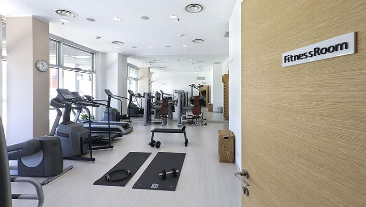 Fitness centre at Ramada Plaza Milano - The Residence - Citybase Apartments