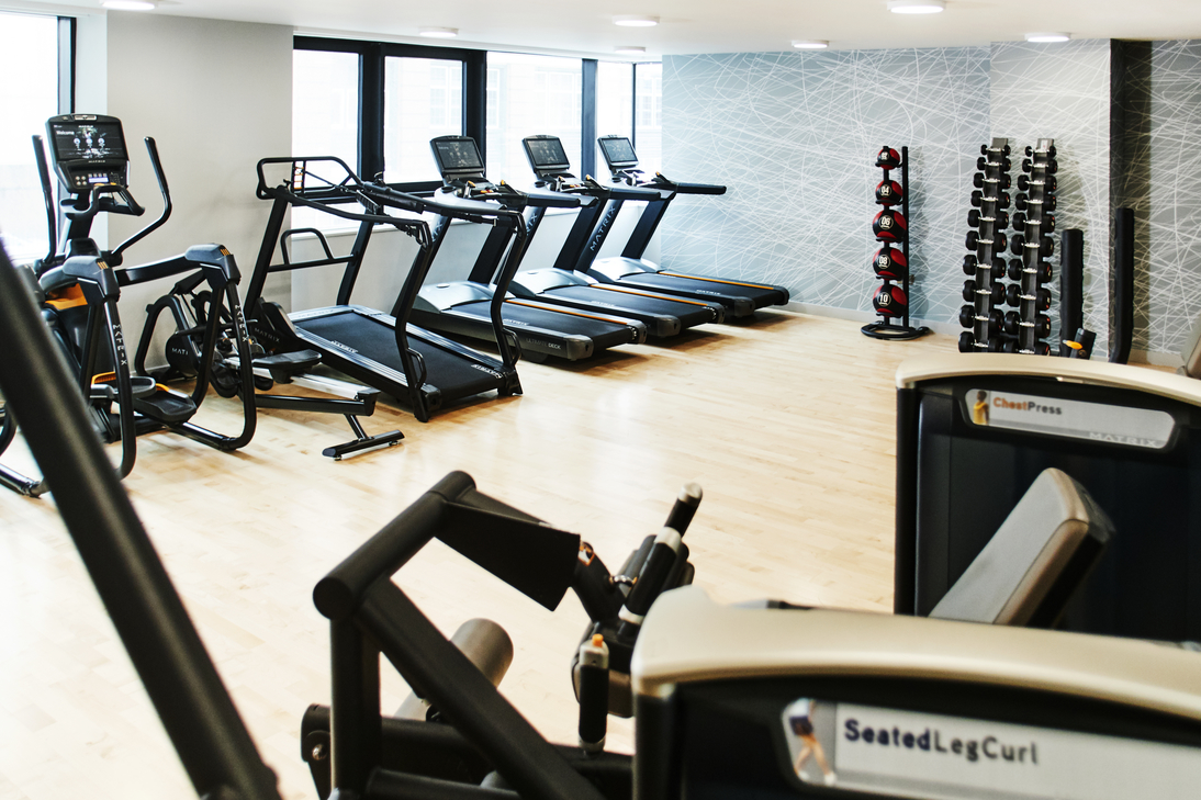 Gym at CitySuites Manchester - Citybase Apartments