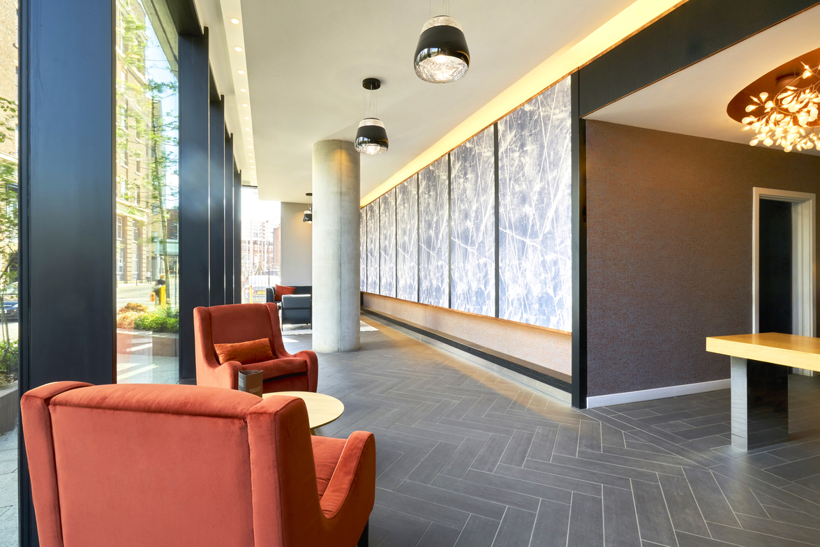 Lobby at CitySuites Manchester - Citybase Apartments