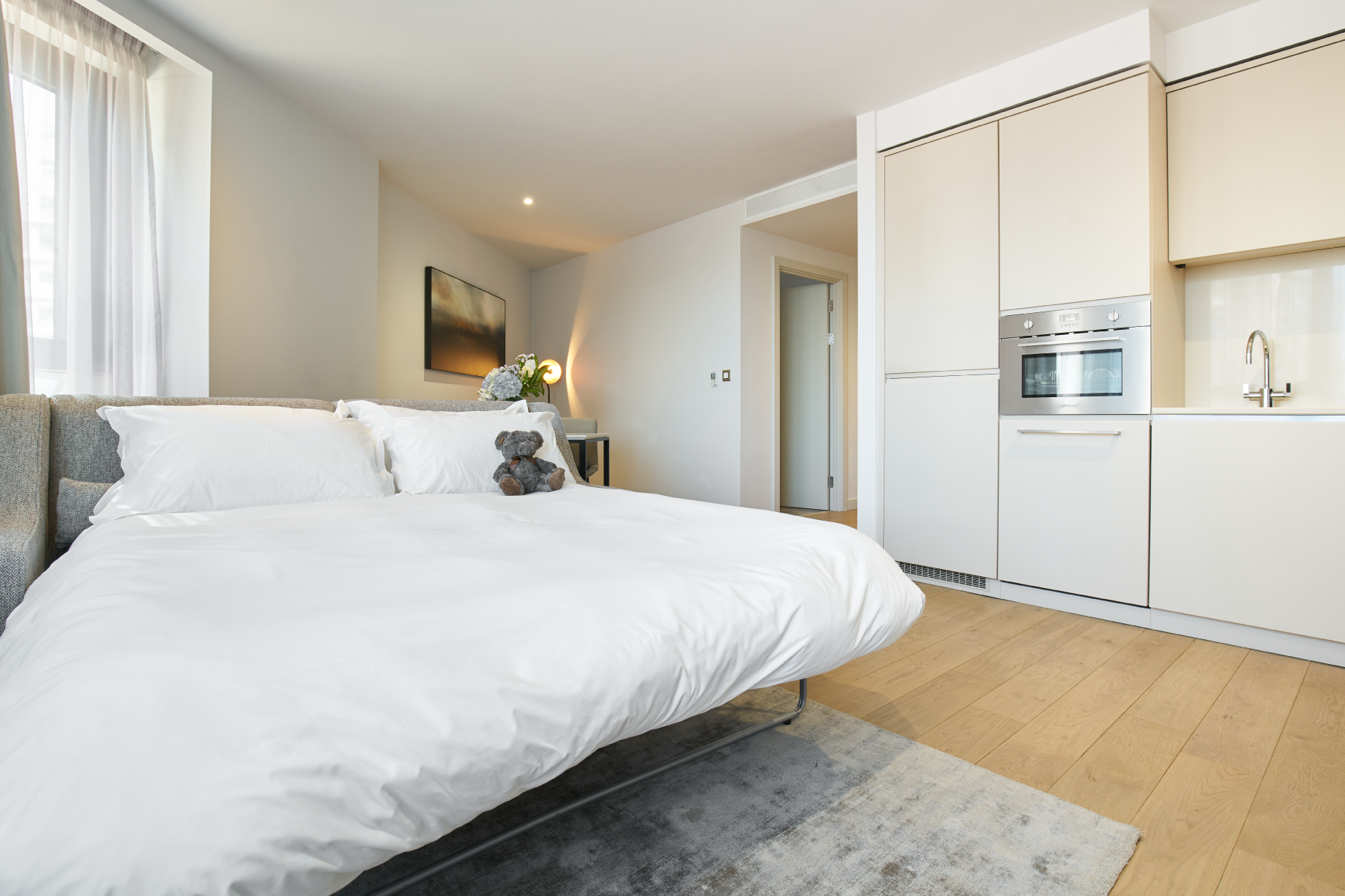 Pull down bed at CitySuites Manchester - Citybase Apartments