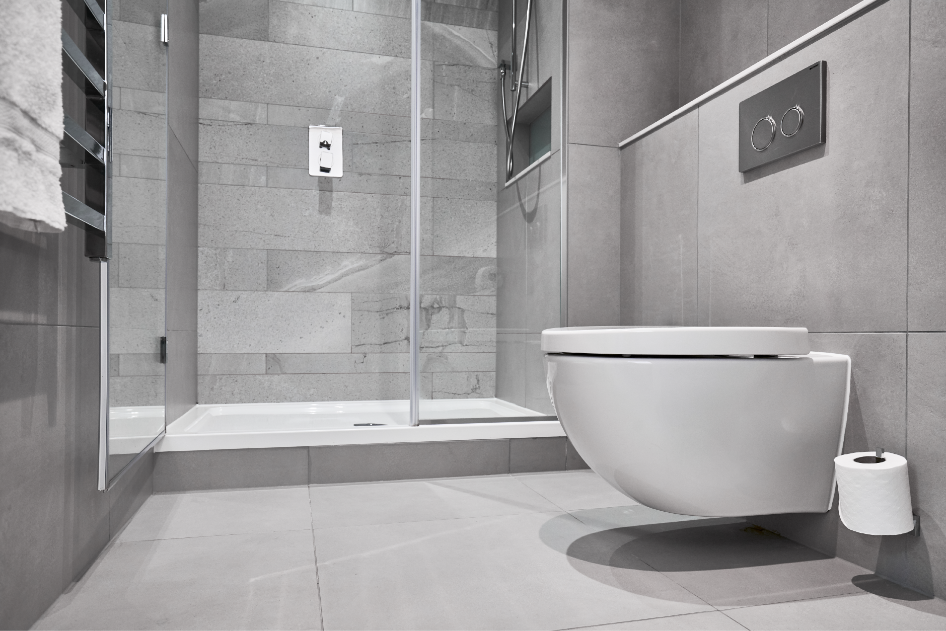 Bathroom at CitySuites Manchester - Citybase Apartments