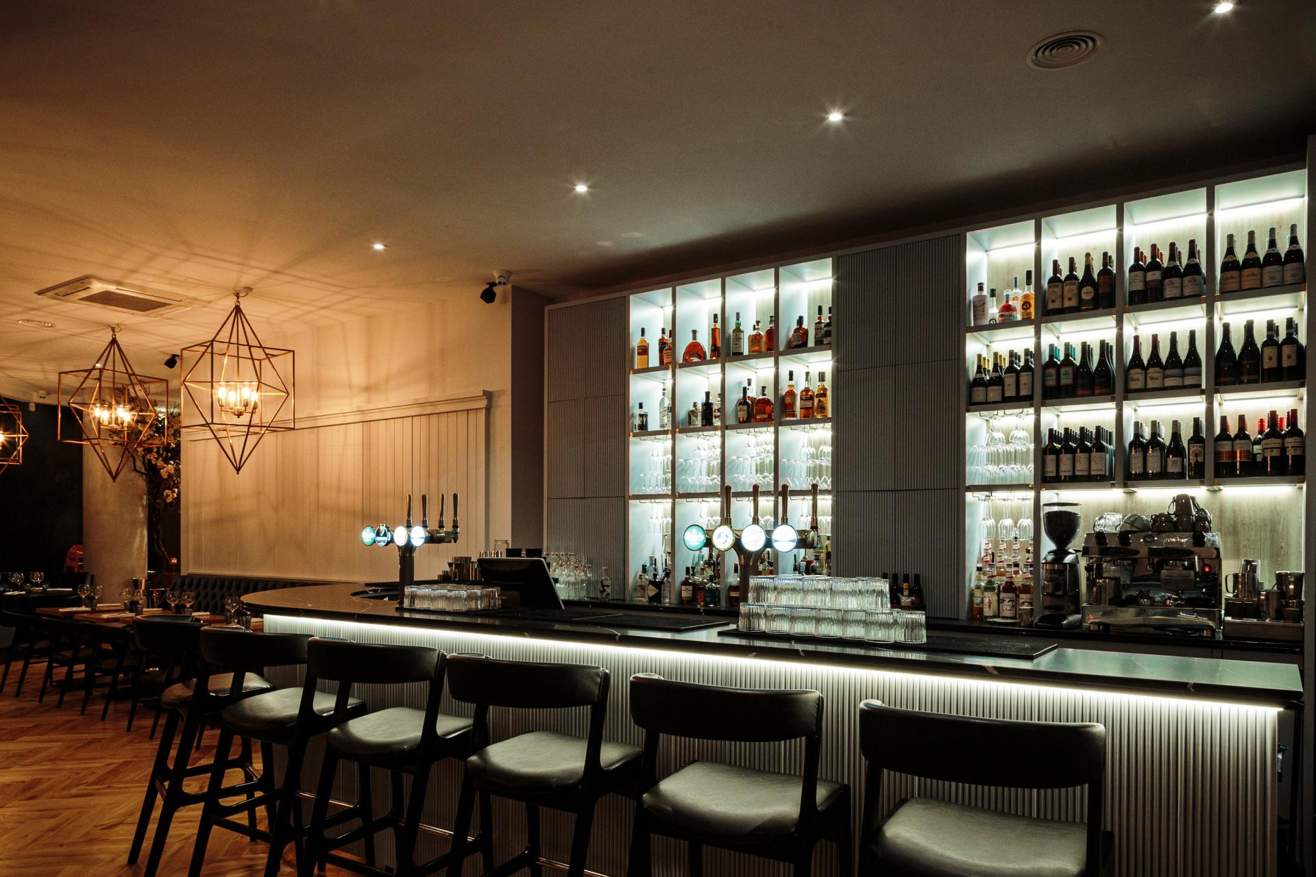 Bar at CitySuites Manchester - Citybase Apartments
