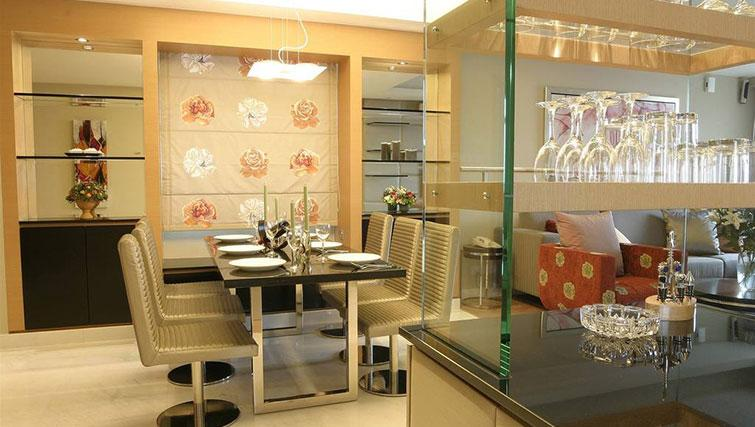 Dining area at Great World Serviced Apartments, Singapore - Citybase Apartments