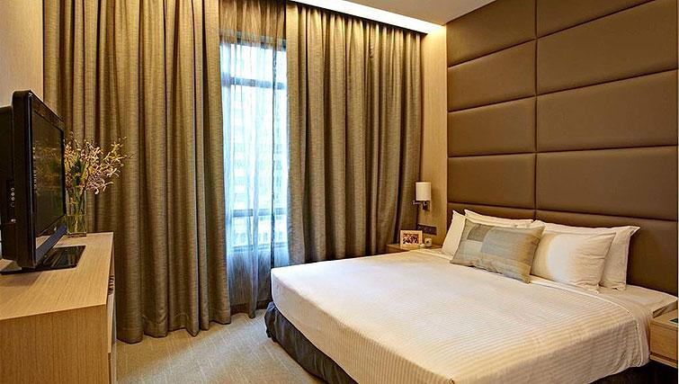 Bedroom at Great World Serviced Apartments, Singapore - Citybase Apartments