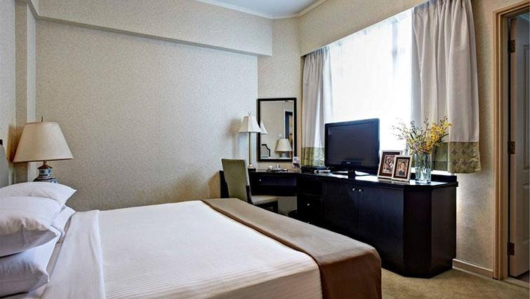 Master bedroom at Great World Serviced Apartments, Singapore - Citybase Apartments
