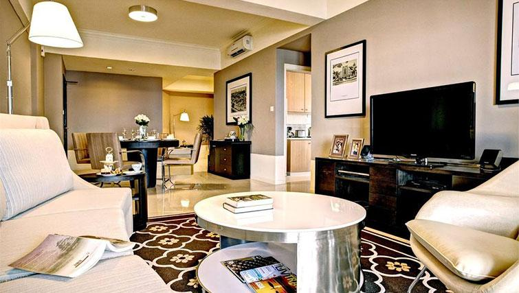 Grand living area at Great World Serviced Apartments, Singapore - Citybase Apartments
