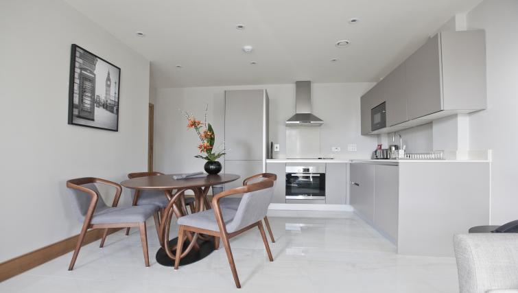 Kitchen at Sanctum Belsize Apartments - Citybase Apartments