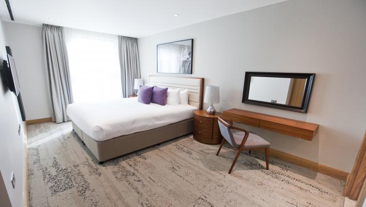 Living space at Sanctum Belsize Apartments - Citybase Apartments