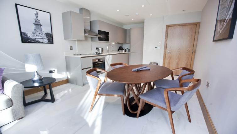 Bright living area at Sanctum Belsize Apartments - Citybase Apartments