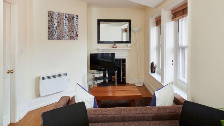 Cosy living area at Charing Cross by Q Apartments - Citybase Apartments