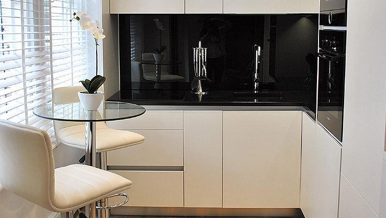 Kitchen at Charing Cross by Q Apartments - Citybase Apartments