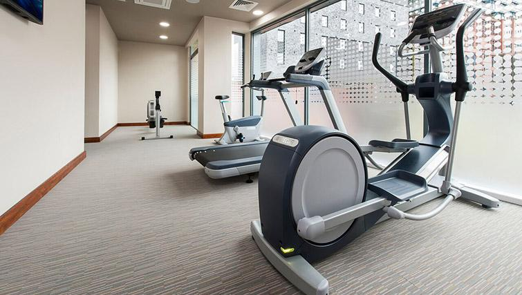 Gym at La Reserve Aparthotel - Citybase Apartments