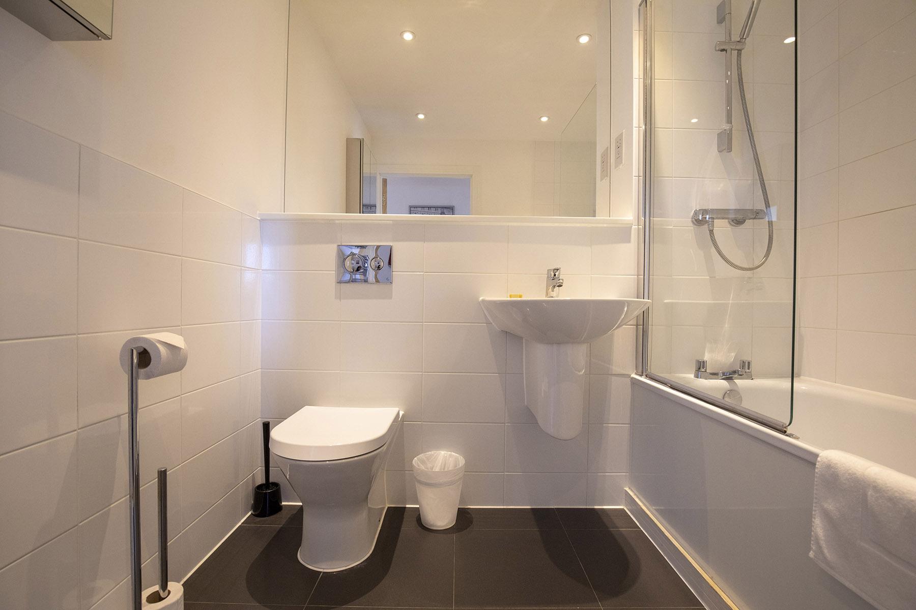 Bathroom at Station View Apartments - Citybase Apartments