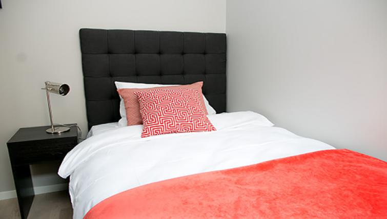 Bed at Odinsgate 10 Apartment - Citybase Apartments