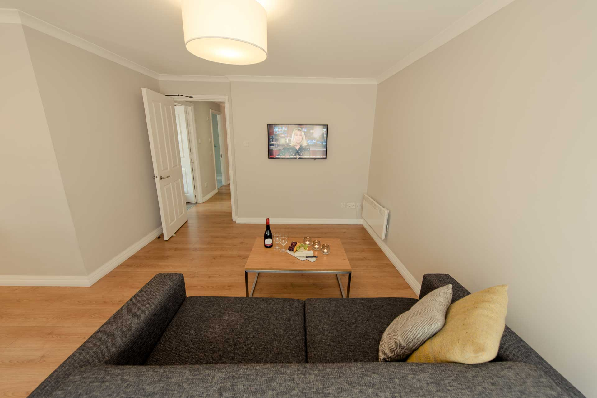 Sofa at Premier Suites Reading - Citybase Apartments