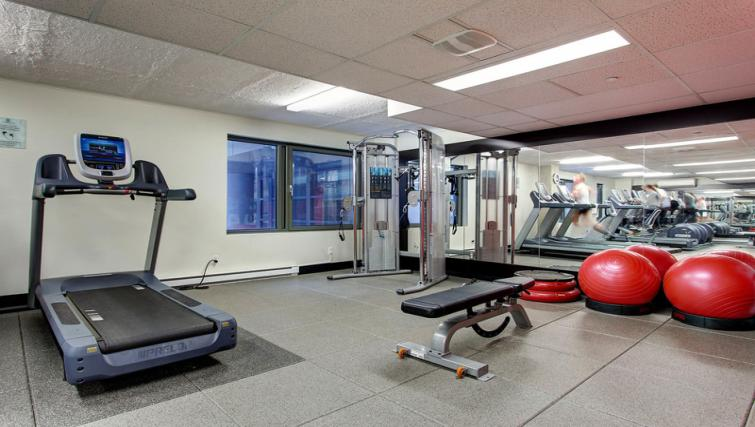 Fitness centre at Les etoiles Apartments - Citybase Apartments