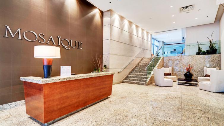Reception at Mosaique Apartments - Citybase Apartments