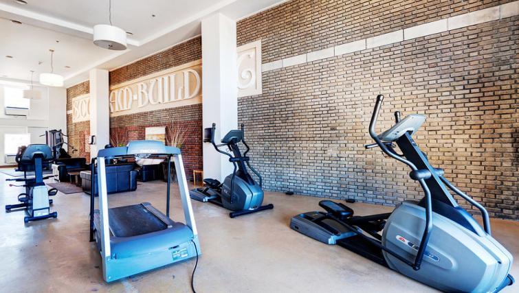 Gym at Mosaique Apartments - Citybase Apartments