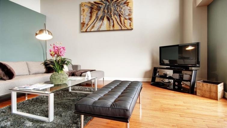 Living area at Mosaique Apartments - Citybase Apartments
