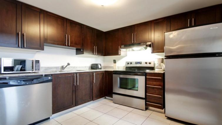 Kitchen at Mosaique Apartments - Citybase Apartments