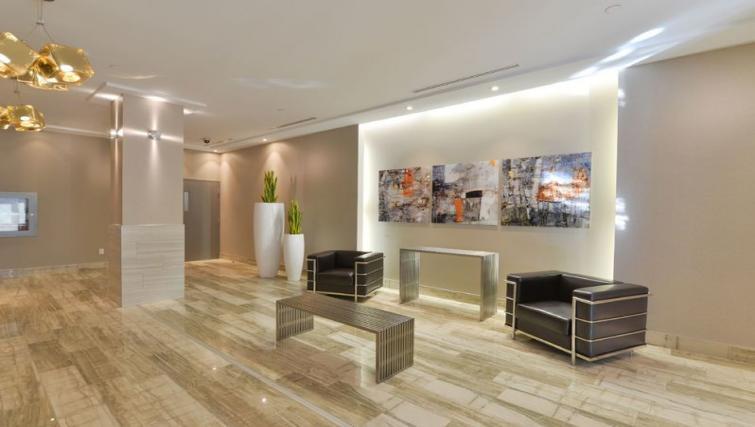 Lobby at 169 Lisgar Apartments - Citybase Apartments
