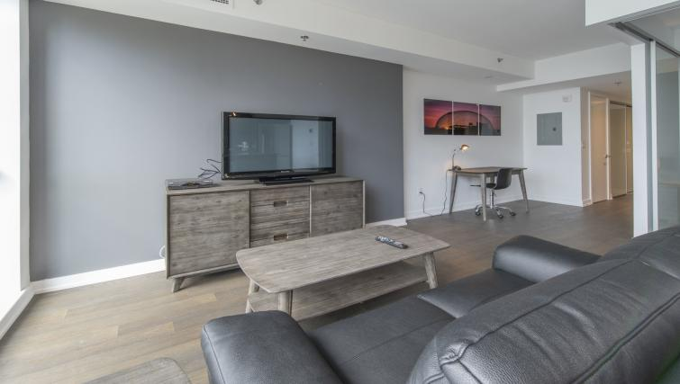 Living area at The Slater Apartment - Citybase Apartments