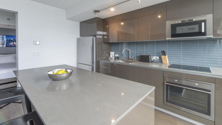 Kitchen at The Slater Apartment - Citybase Apartments
