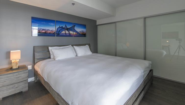Bedroom at The Slater Apartment - Citybase Apartments