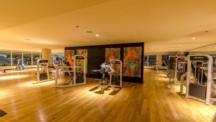 On-site fitness centre at Nuran Marina Serviced Residences - Citybase Apartments