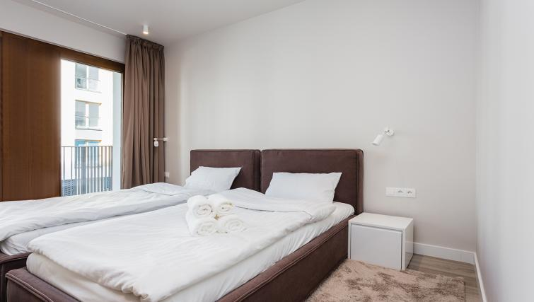 Bedroom at Platinum Residence Mokotow - Citybase Apartments