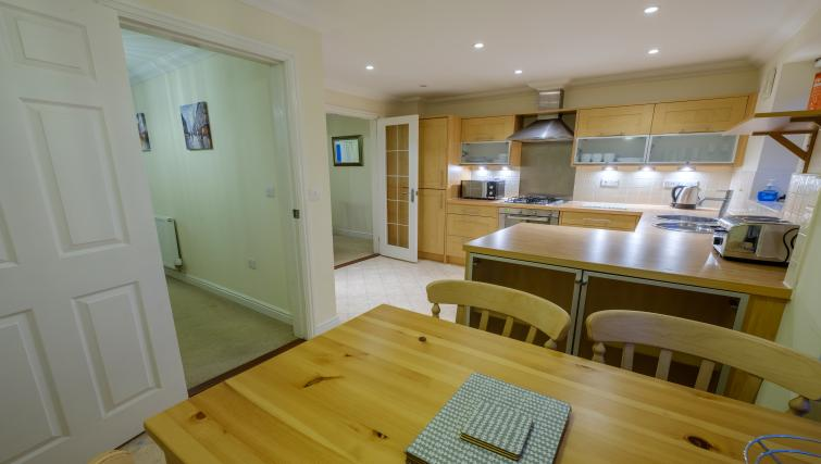 Kitchen/diner at City Centre Town House - Citybase Apartments