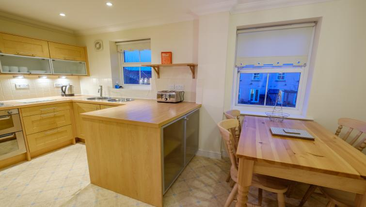 Equipped kitchen at City Centre Town House - Citybase Apartments