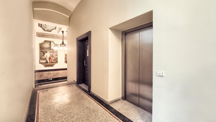 Lifts at Milosrdnych Apartments - Citybase Apartments