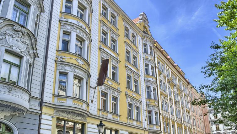 Exterior at Milosrdnych Apartments - Citybase Apartments