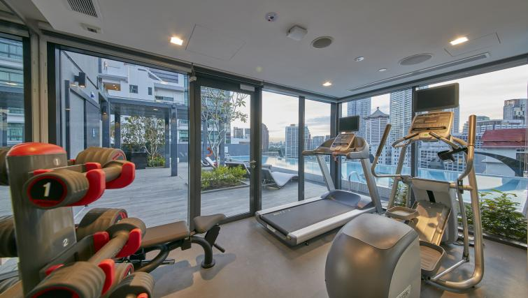 Gym at Oakwood Studios Singapore - Citybase Apartments